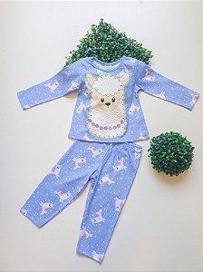 Pijama 1 a 3 Feminino Longo