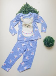 Pijama Lhama 4 a 8 Fem Longo - Kyly