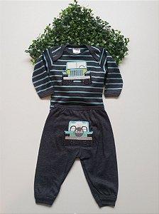 Conjunto Bebê Masculino Body + Calça