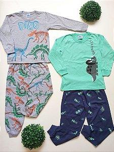 Combo Dino 2 Pijamas 4 a 8 Masc - Bicho Bagunça