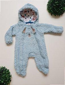 Macacão Longo Pelo Bebê Masc - Kiko Baby