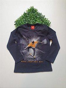 Camiseta Skate 4 a 8 Masc - Kyly