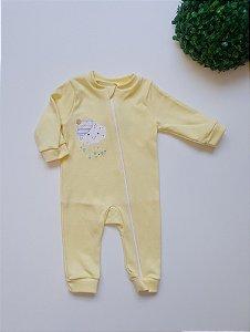 Macacão longo Bebê Unissex - Nuvem Azul