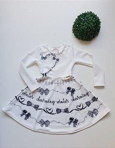 Vestido Infantil Festa - Tam 6 a 8 - Kiki Xodó