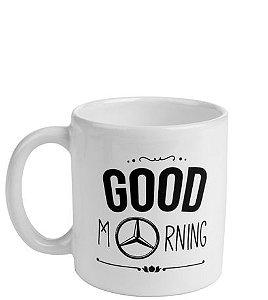 Caneca Good Morning Star Mercedes