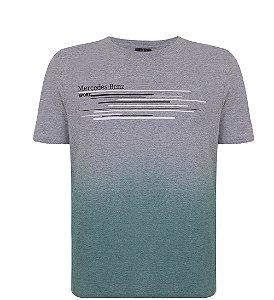 Camiseta Gradient Masculina Mercedes Benz