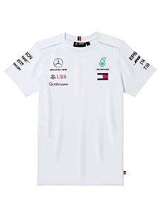 Camisa F1 Masculina Branca 2018
