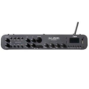 Amplificador Compacto De Som Ll Audio Sa2500 180w até 24 cxs