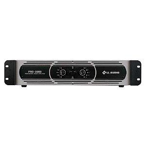 Amplificador profissional LL Audio Pro2200 classe D 550W Rms