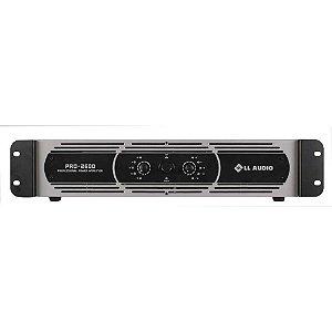 Amplificador profissional LL Audio Pro2600 classe D 650W Rms
