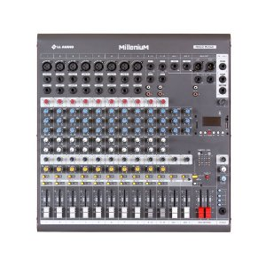 Mesa de som Mixer LL Audio M1202D 12 canais Phantom Power