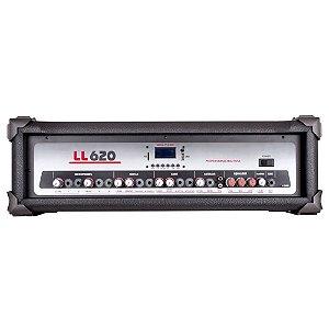 Cabeçote Amplificado Multiuso LL Audio LL620 BT 200 Wrms