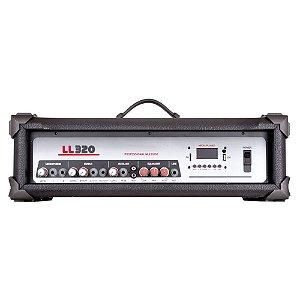 Cabeçote Amplificado Multiuso LL Audio LL320 BT 75 Wrms