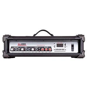 Cabeçote Amplificado Multiuso LL Audio LL220 BT 50 Wrms