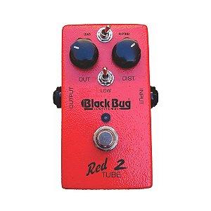 Pedal de Guitarra Black Bug TRT-2 Red Tube Distortion OutPut