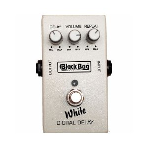 Pedal Para Guitarra Black Bug TWD White Delay Vintage Repeat