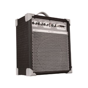 Caixa de Som Amplificada Multiuso Up!8 Black FM/USB/BT
