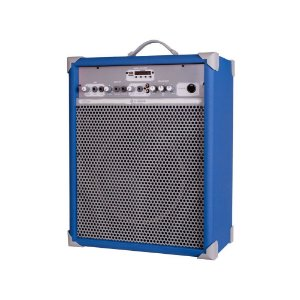 Caixa de Som Amplificada Multiuso Up!10 Sky Blue FM/USB/BT