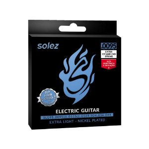 Encordoamento Solez Para Guitarra Slg95 .095