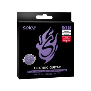 Encordoamento Solez Guitarra Slg11 .011