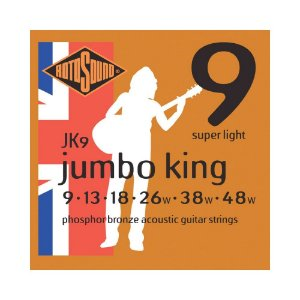 Encordoamento para Violão Rotosound Jumbo King JK9