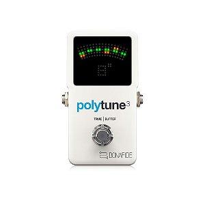 Pedal de Guitarra TC Electronic Polytune 3 Polifônico