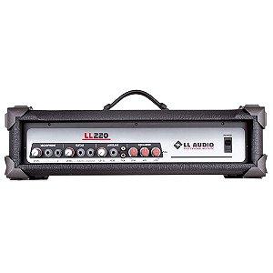 Cabeçote Amplificado Multiuso LL Audio LL220 50 Wrms