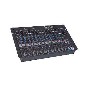 Mesa De Som Mixer Ll Audio Starmix S1202D com 12 Canais