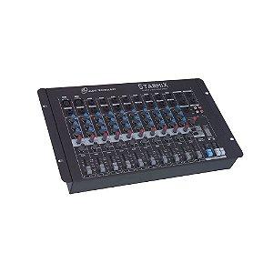 Mesa De Som Mixer Ll Audio Starmix S1602D com 16 Canais