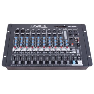 Mesa De Som Mixer Ll Audio S1002D  BT 10 Canais Bluetooth