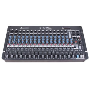 Mesa De Som Mixer Ll Audio S1602D  BT 16 Canais Bluetooth