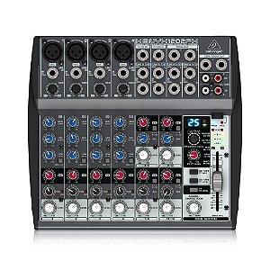 Mesa De Som Mixer Behringer Xenyx 1202fx 110V Efeitos PréAmp