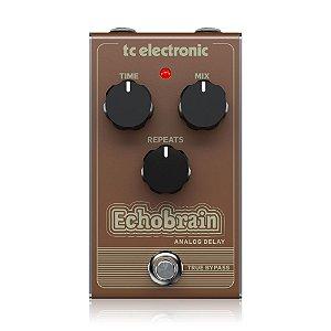 Pedal de Guitarra TC Electronic Echobrain Delay Analógico