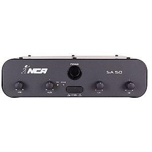 Amplificador Compacto Para Som Nca SA50 50 WRms