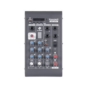 Mesa De Som Mixer Nanomix CDX LL Audio CDX302 3 Canais