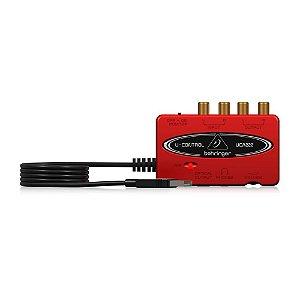 Interface De Audio Behringer UCA222