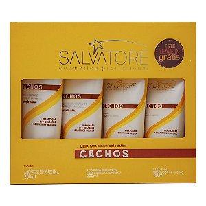 Hair Pró Kit Cachos 3 produtos + 1 leave-in