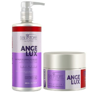 Hair Pró Kit Angelux Shampoo 480ml + Condicionador 250ml