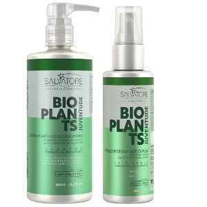 Kit Salvatore Bioplants Shampoo 480ml + Tônico Capilar 120ml