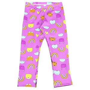 Legging FPU 50+ Bichos Pink