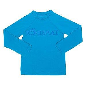 Camisa Manga Longa Azul Capri com FPU 50+