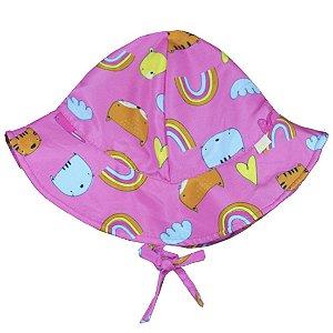 Chapéu Bichos Pink FPU 50+