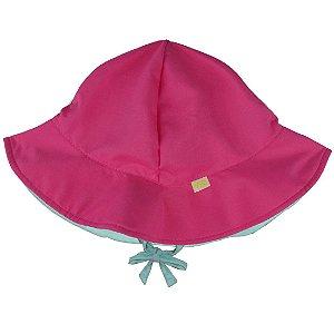 Chapéu Dupla Face Pink l Aqua FPU 50+