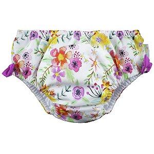 Fralda de Banho & Piscina Reutilizável Spring Multicolorido