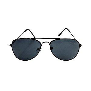 Óculos de Sol com Proteção UV Aviador Preto