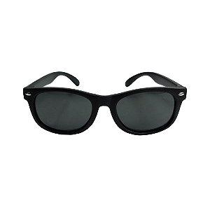 Óculos de Sol com Proteção UV Quadrado Preto