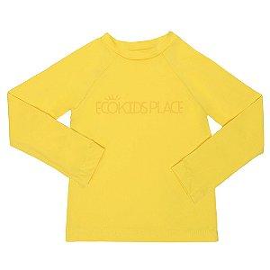 Camisa Manga Longa Amarelo FPU 50+