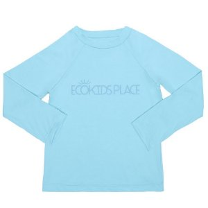 Camisa Manga Longa Azul Céu com FPU 50+