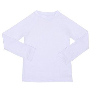 Camisa Manga Longa Branca com FPU 50+
