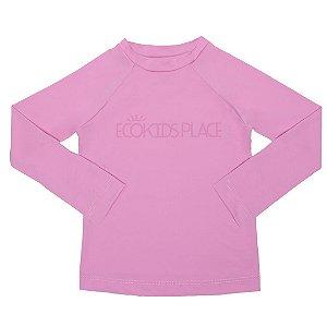 Camisa Manga Longa Rosa com FPU 50+